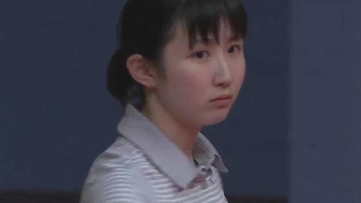 クッタ(QTTA)のCMの卓球選手が可愛いけど誰?名前は早田ひな!